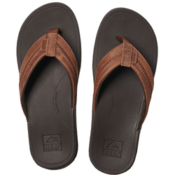 Reef Leather Ortho-Bounce Coast Sandals - Men's