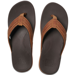 Reef Leather Ortho-Spring Sandals - Men's