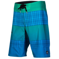 Reef My Name Is Plaid Strip 3 Boardshorts