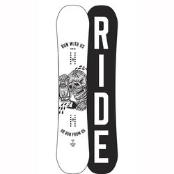 Ride Burnout Snowboard - Wide