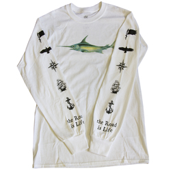 The Road Is Life Come Sail Away Long Sleeve T-Shirt