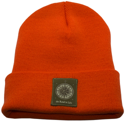 The Road Is Life Fisherman Beanie