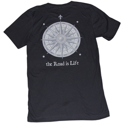 Road Is Life Merchant T-Shirt