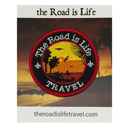 The Road Is Life Sunset Patch