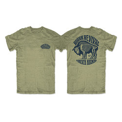 Roark Revival Buffalo Hobo Nickel Tee