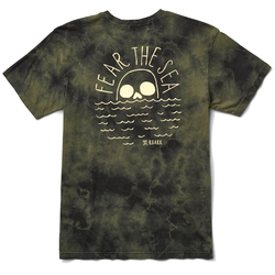 Roark Fear The Sea Tie Dye Premium Tee Shirt - Men's