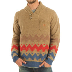 Roark Gnarwhal Shawl Sweater - Mens