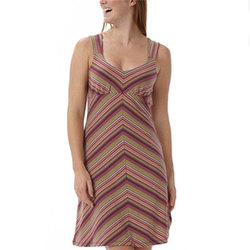 Royal Robbins Essential Tencel Stripe Tank Dress - Woemns
