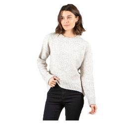 Rusty Opal Crew Knit Sweater - Women's