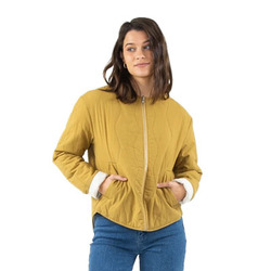 Rusty Tortuga Reversible Quilted Jacket - Women's