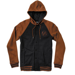 RVCA Brawler Hooded Fleece Jacket