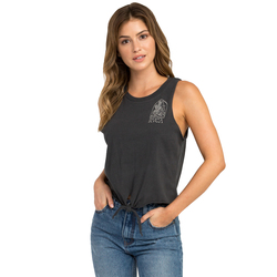 RVCA Desert Tomb Knotted Tank Top - Women's