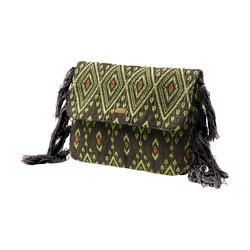 RVCA Diamond Traveler Clutch