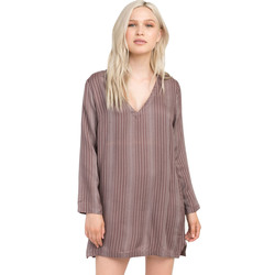RVCA Foxy Lady Striped Shirt Dress