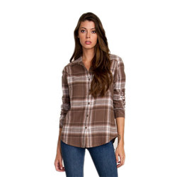 RVCA Jig 4 Flannel Long Sleeve Shirt - Women's