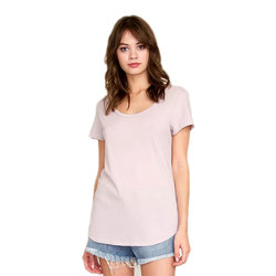 RVCA Label Scoop Neck T-Shirt - Women's