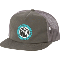 RVCA Log Life Trucker Hat