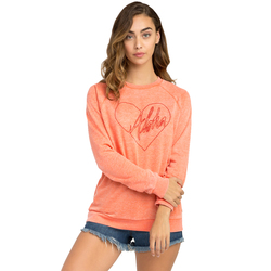 RVCA Luv Aloha Fleece Sweatshirt - Women's