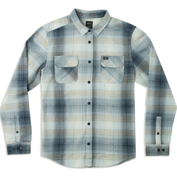 RVCA Muir Plaid Long Sleeve Flannel Shirt - Men's