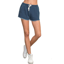 RVCA Proxy Mid-Rise Elastic Denim Cutoff Short - Women's