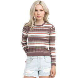 RVCA Sally Striped Knit Sweater - Women's