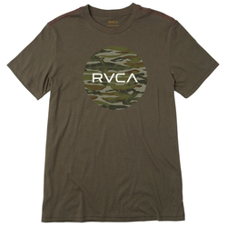 RVCA Water Camo Motors S/S T-Shirt