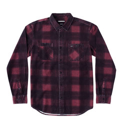 RVCA Wayman Plaid Flannel Long Sleeve Shirt