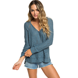 Roxy Airport Vibes Knitted Hoodie - Women's