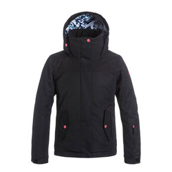 Roxy Girls Jetty Solid Snow Jacket - Kid's