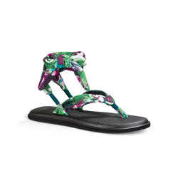 Sanuk Yoga Slinged Up Print Sandals - Women;s