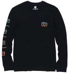 Element Lens Long Sleeve Backprint T-Shirt