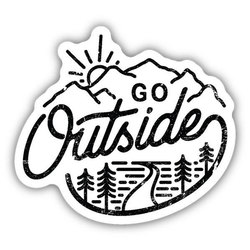 Stickers Northwest Inc Go Outside Sticker