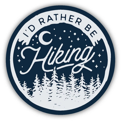 Stickers Northwest I'd Rather Be Hiking Sticker