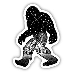 Stickers Northwest Inc Sasquatch Constellation Sticker