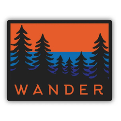 Stickers Northwest Inc Wander Trees Sticker