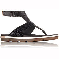 Sorel Torpeda Leather Ankle Strap Sandals - Women's