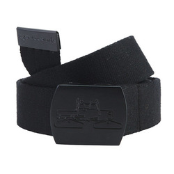 Spacecraft Black Web Belt