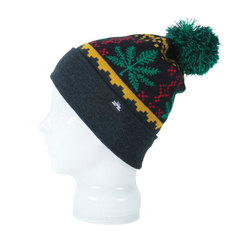 Spacecraft Chron Pom Beanie