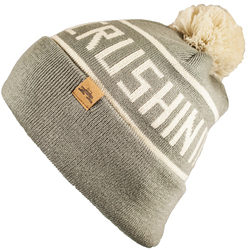 Spacecraft Crushing It Pom Beanie Hat