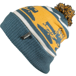 Spacecraft Snowcat Pom Beanie