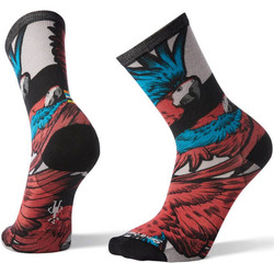 Smartwool Curated Pandemonium of Parrots Crew Socks