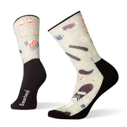 Smartwool Hike Light Hut Trip Print Crew Socks - Women's