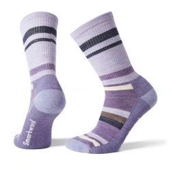 Smartwool Hike Striped Light Crew Socks - Women's