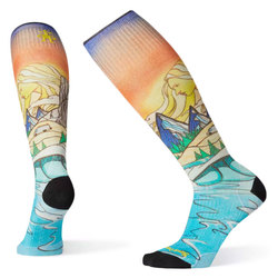 Smartwool PhD® Ski Ultra Light Lifecycle Print Socks - Women's