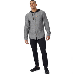 Tentree Mancos LS Button Up Hoodie - Men's