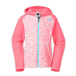 The North Face Glacier Full Zip Hoodie - Girls
