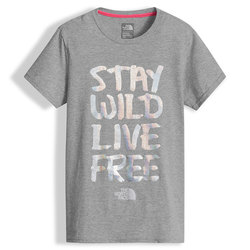 The North Face S/S Graphic Tee - Girl's