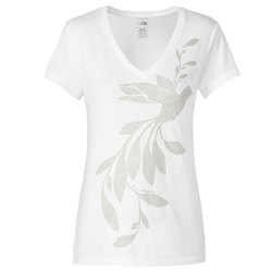 The North Face Janalee V-Neck Burn Out S/S Tee - Women's