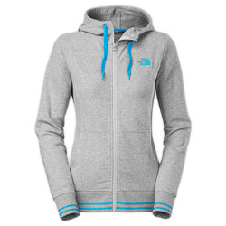 The North Face Logo Stretch Full Zip Hoodie - Women's