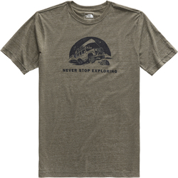The North Face Short Sleeve Pony Wheels Tri-Blend Tee Shirt - Men's